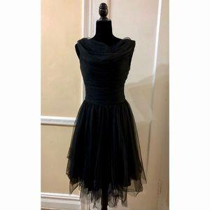 Black Unique Vintage Party Dress